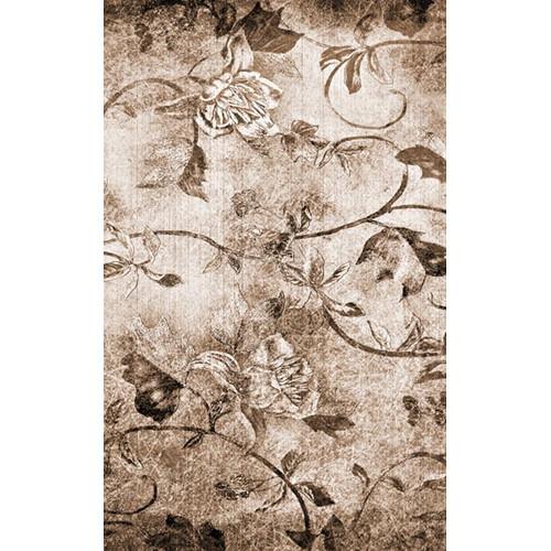 Click Props Backdrops Floral Canvas Backdrop (5 x 8')