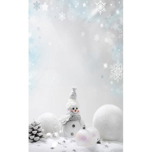 Click Props Backdrops Snowman Backdrop (5 x 8')