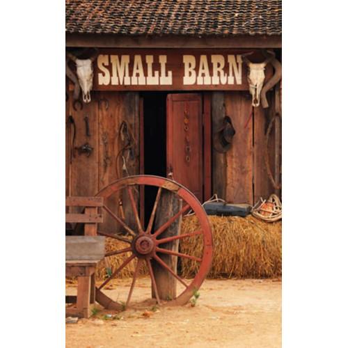 Click Props Backdrops Outside Barn Backdrop (5 x 8')