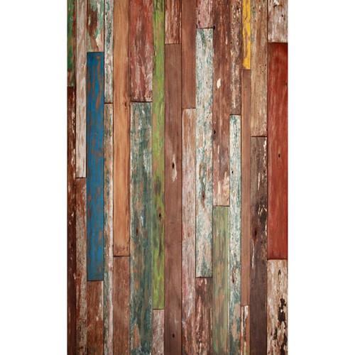 Click Props Backdrops Driftwood Backdrop (5 x 8')