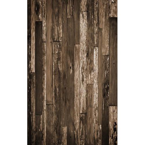 Click Props Backdrops Sepia Driftwood Backdrop (5 x 8')