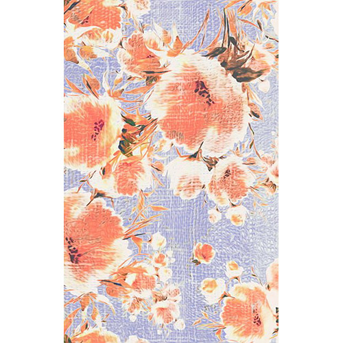 Click Props Backdrops Poppies Lilac Backdrop (5 x 8')