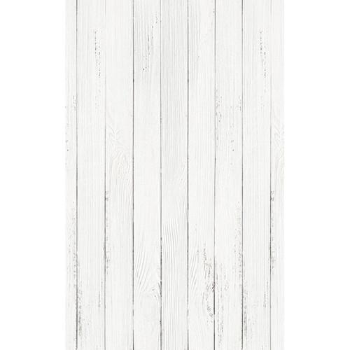 Click Props Backdrops White Wash Floor Backdrop (5 x 8')