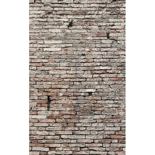 Click Props Backdrops Old Grungy Brick Wall Backdrop (5 x 8')