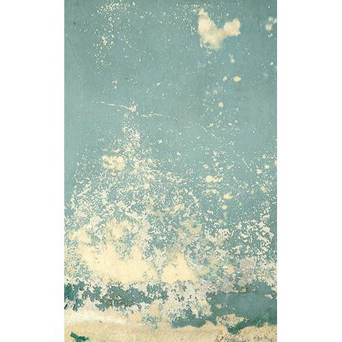 Click Props Backdrops Blue Plaster Decay Backdrop (5 x 8')