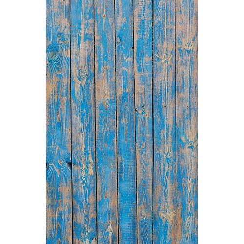 Click Props Backdrops Blue Decking Backdrop (5 x 8')