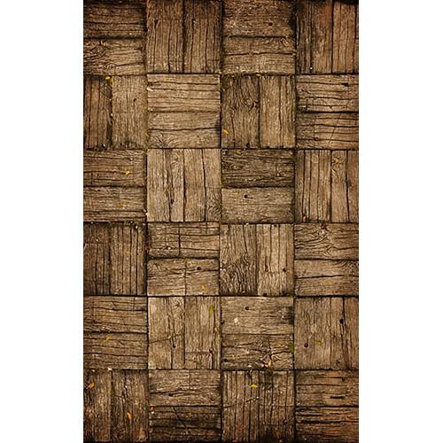 Click Props Backdrops Parquet Flooring Backdrop (5 x 8')