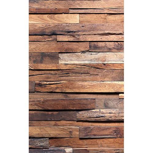 Click Props Backdrops Timber Wall Backdrop (5 x 8')