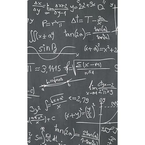 Click Props Backdrops Chalkboard Sums Backdrop (5 x 8')