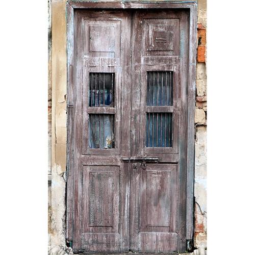 Click Props Backdrops Derelict Door Backdrop (5 x 8')
