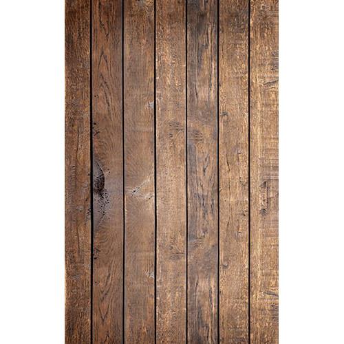 Click Props Backdrops Mahogany Plank Backdrop (5 x 8')