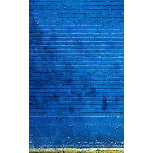 Click Props Backdrops Blue Brick Backdrop (5 x 8')