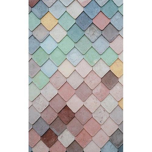 Click Props Backdrops Coloured Slate Backdrop (5 x 8')