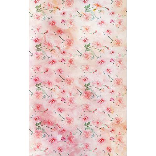 Click Props Backdrops Pastel Rose Pink Backdrop (5 x 8')