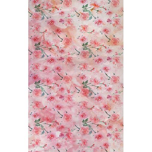 Click Props Backdrops Pastel Rose Red Backdrop (5 x 8')