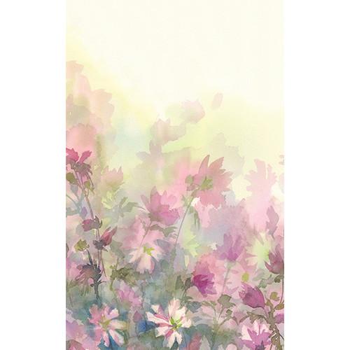 Click Props Backdrops Watercolor Bouquet Pink Backdrop (5 x 8')