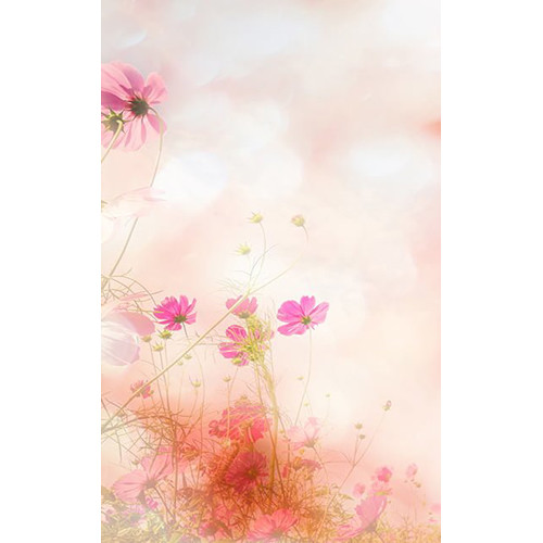 Click Props Backdrops Flowers in the Wind Backdrop (5 x 8')