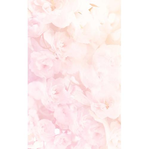 Click Props Backdrops Soft Pink Flowers Backdrop (5 x 8')