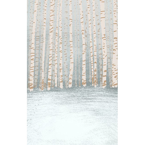 Click Props Backdrops Winter Trees Backdrop (5 x 8')