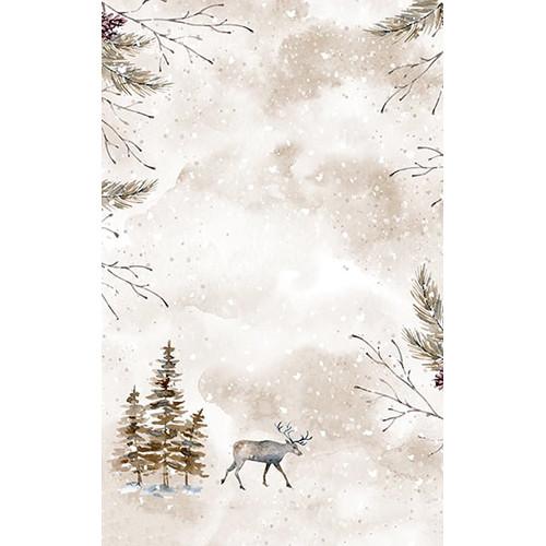 Click Props Backdrops Reindeer Backdrop (5 x 8')