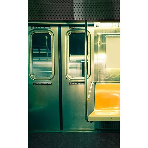 Click Props Backdrops Subway Train Backdrop (5 x 8')