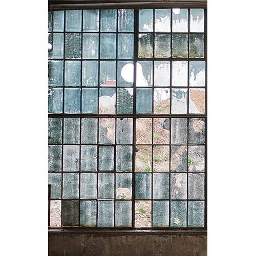 Click Props Backdrops Factory Windows Backdrop (5 x 8')