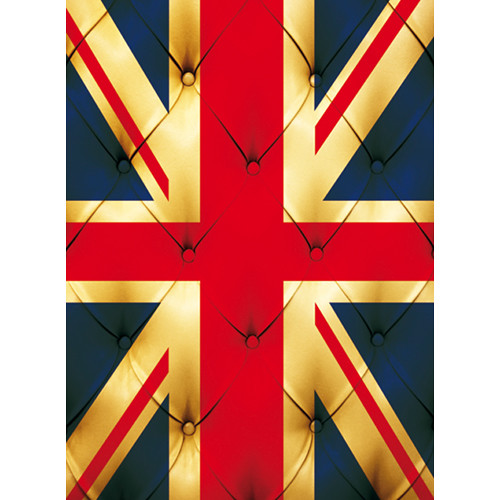 Click Props Backdrops Union Jack Buttons Backdrop (9.5 x 7')