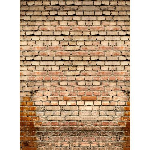 Click Props Backdrops Old Rural Brick Wall Backdrop (9.5 x 7')