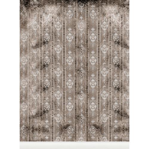 Click Props Backdrops Distressed Wallpaper Gray Backdrop (9.5 x 7')