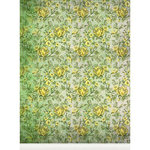Click Props Backdrops Rose Yellow Backdrop (9.5 x 7')