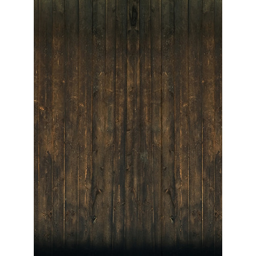 Click Props Backdrops Grunge Brown Wood Backdrop (9.5 x 7')