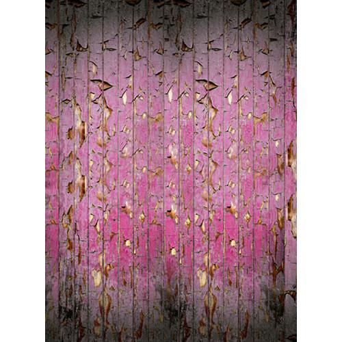 Click Props Backdrops Peeling Paint Pink Backdrop (9.5 x 7')