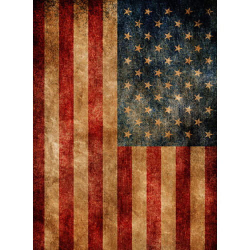 Click Props Backdrops American Flag Backdrop (7 x 9.5')