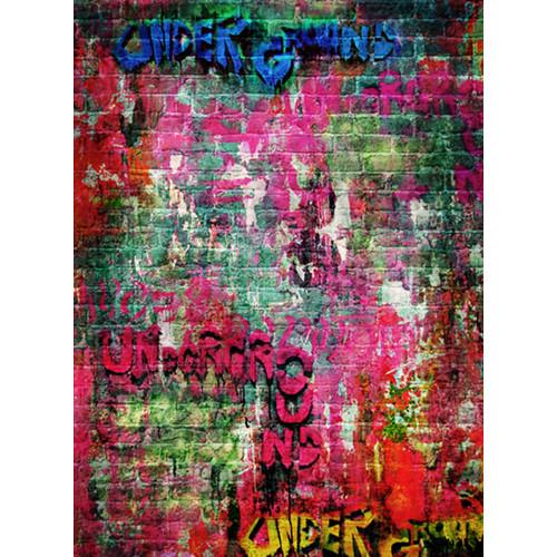 Click Props Backdrops Brick Graffiti Backdrop (7 x 9.5')