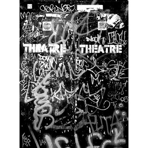 Click Props Backdrops Graffiti Door 1 Backdrop (7 x 9.5')
