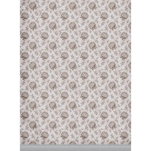 Click Props Backdrops Florla Wallpaper Brown Backdrop (7 x 9.5')