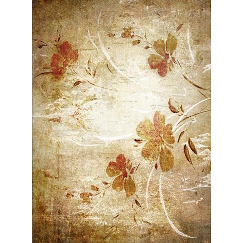 Click Props Backdrops Oriental Floral Wallpaper Backdrop (7 x 9.5')
