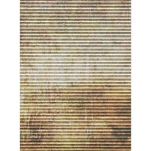 Click Props Backdrops Rusty Shutter Backdrop (7 x 9.5')