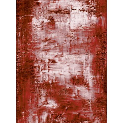 Click Props Backdrops Red Wash Backdrop (9.5 x 7')
