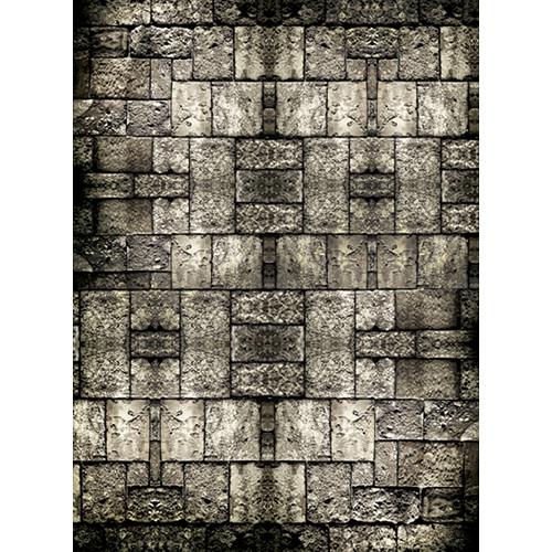 Click Props Backdrops Stone Floor Smaller Backdrop (7 x 9.5')