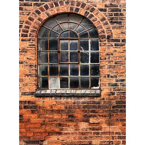 Click Props Backdrops Arched Window Backdrop (7 x 9.5')