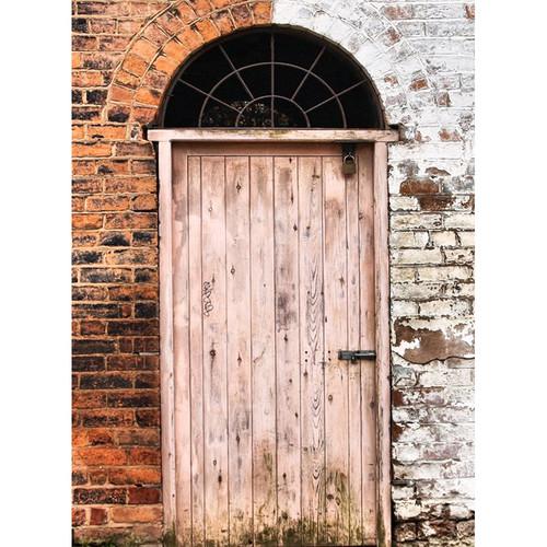 Click Props Backdrops Two Tone Door Backdrop (7 x 9.5')