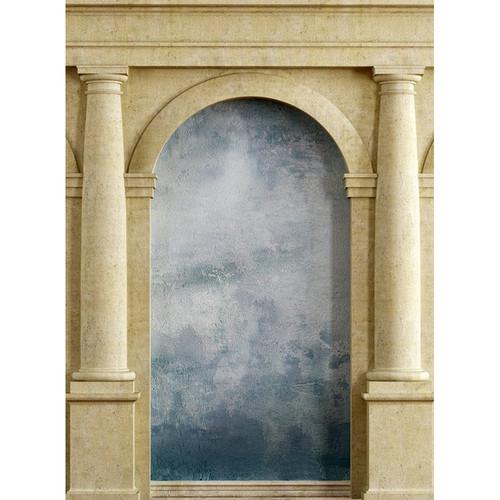 Click Props Backdrops Roman Arch Blue Backdrop (7 x 9.5')