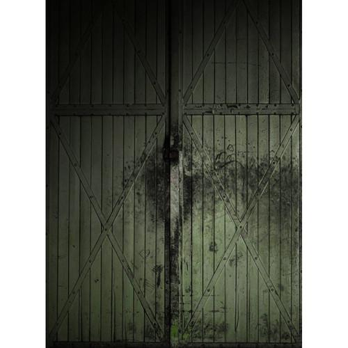 Click Props Backdrops Green Gate Backdrop (7 x 9.5')