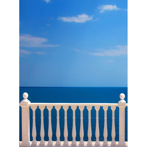 Click Props Backdrops Sea View Backdrop (7 x 9.5')