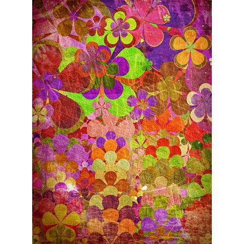 Click Props Backdrops Flower Power Backdrop (7 x 9.5')