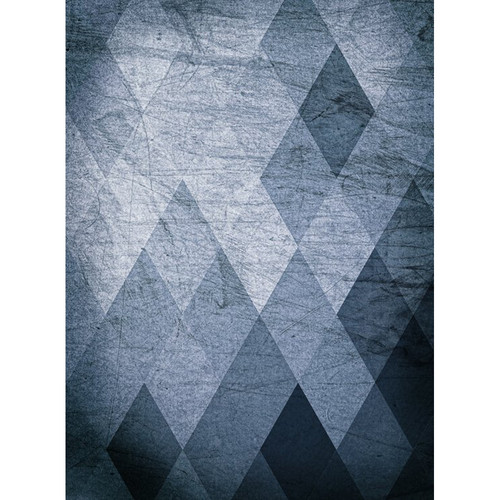 Click Props Backdrops Gray Diamonds Backdrop (7 x 9.5')