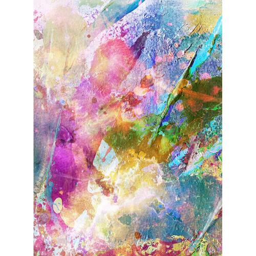 Click Props Backdrops Paint Splash Backdrop (7 x 9.5')