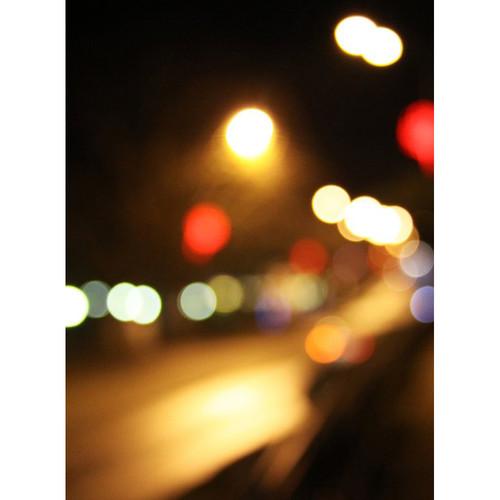 Click Props Backdrops Midnight Street Bokeh Backdrop (7 x 9.5')