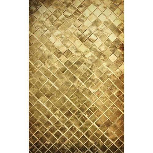 Click Props Backdrops Golden Tile Backdrop (7 x 9.5')